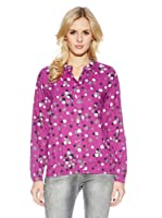 Cross Jeans Blusa Estampada (Fucsia)