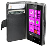 Mumbi Cover for Nokia Lumia 520 Leather Pouch Bookstyle