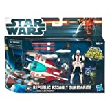 Star Wars - Republic Assault Submarine with Scuba Clone Trooper - SCOUT VEHICLE