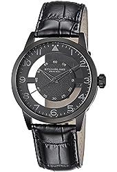 Stuhrling Original Men's Leather strap Watch