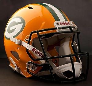 GREEN BAY PACKERS NFL Riddell Revolution SPEED Football Helmet by ON-FIELD