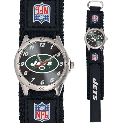 NFL Kids' FF-NYJ Future Star Series New York Jets Black Watch at Amazon.com