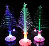 Firefly Unique Colorful Color Changing Vases Base Fibre Christmas Tree Light - Novel Creative Trendy Hip Night Lights Calming Lamps