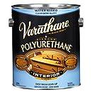 Rust-Oleum 200131 Varathane Crystal Clear Water-Based Polyurethane, 1-Gallon, Semi-Gloss
