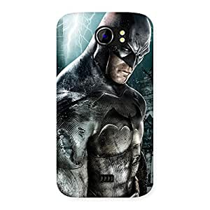 Ajay Enterprises Force Bat Back Case Cover for Micromax Canvas 2 A110