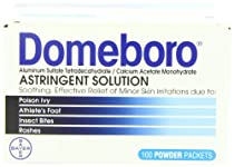 Hot Sale Domeboro Astringent Solution, 100-Count