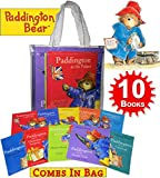 img - for Paddington Bear 10 Books Collection Pack Set in Carrier Bag by Michael Bond (In the Garden, The grand Tour, Christmas Surprise, at the Zoo, the Marmalade Maze, at the Palace, at the carnival, etc book / textbook / text book