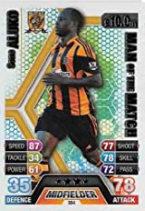 Match Attax 2013/2014 Sone Aluko Hull City 13/14 Man Of The Match