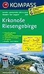 Riesengebirge / Krkonose: Wanderkarte...