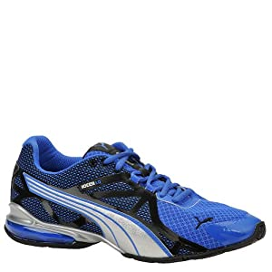 PUMA Men's Voltaic 5 Running Shoe,Princess Blue/Black/PUMA Silver,11 M US