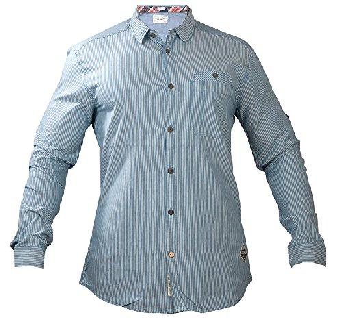JACK & JONES -  Camicia Casual  - Maniche lunghe  - Uomo blu X-Large