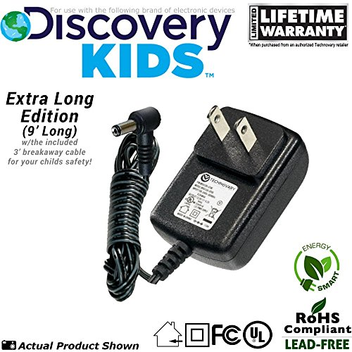 Discovery Kids Daisy Bloom Projection Alarm Clock Power Supply / AC Adapter