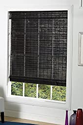 Lewis Hyman 2143664 St. Lawrence Roman Shade, 36-Inch Wide by 64-Inch Long, Espresso