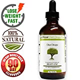 Official Diet Drops - Natural, Proven Formula to Lose Weight Fast - Lose up to 1 pound a day - 100% Money Back Guarantee No Questions Asked - Includes FREE Diet Phone Support - Made in USA in FDA-Registered, GMP-Certified Facilities - Non-GMO (45-Day (4oz))
