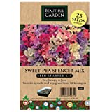 Sweet Pea Spencer Mix Seed Starter Kit by seller hut