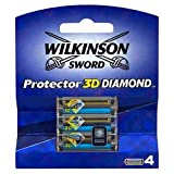 Wilkinson Sword Blades Protector 3D Diamond 4 Pack