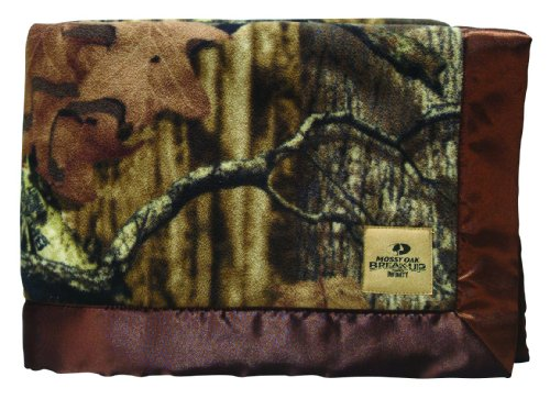 Scene Weaver Mossy Oak Camouflage Baby Blanket, Break-Up Infinity