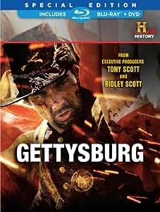 Gettysburg Blu-Ray & DVD Combo Pack