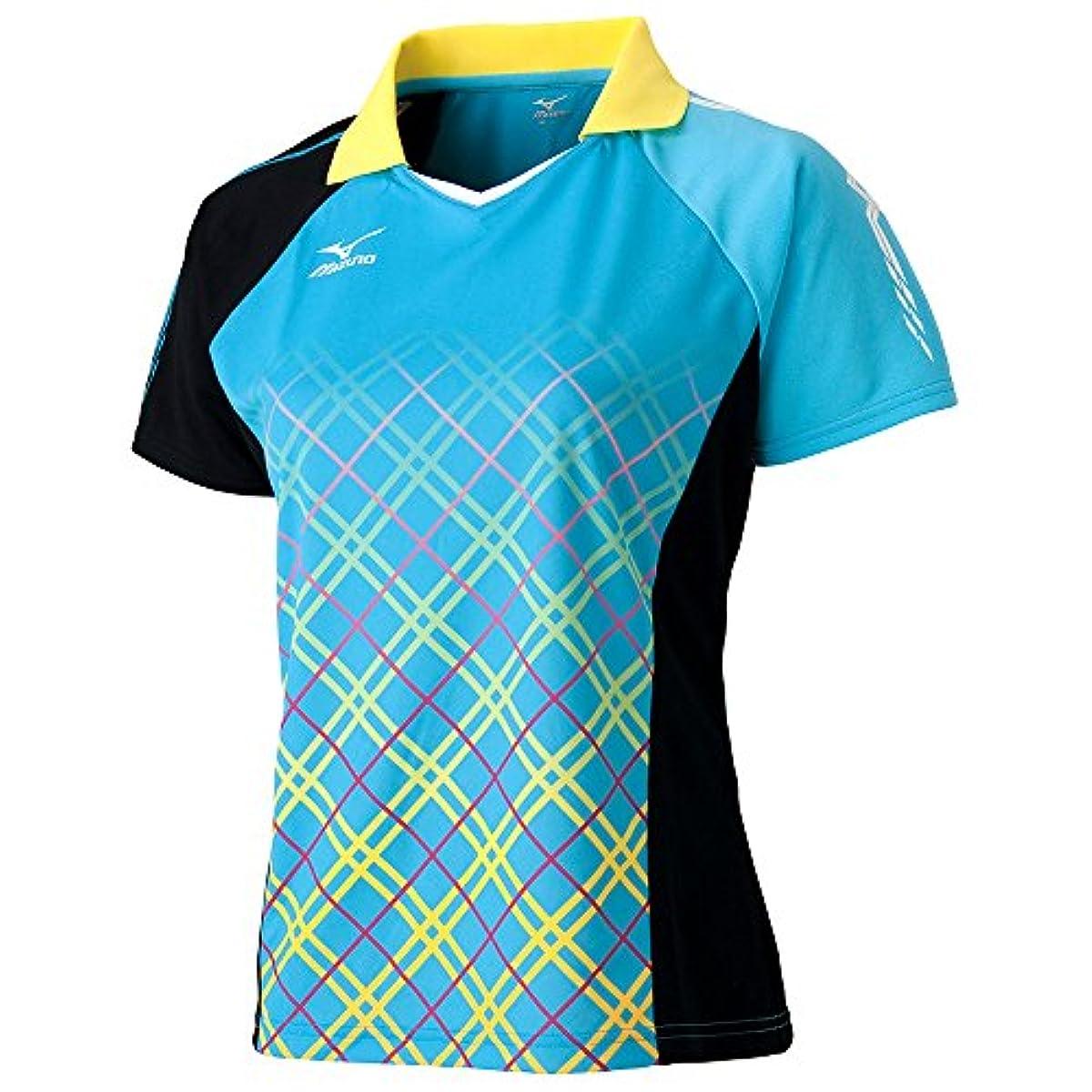 [해외] (미즈노)MIZUNO 탁구 웨어 게임 셔츠 82JA6202[레이디스] (2016-09-01)