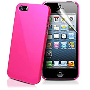 WOW Imagine(TM) Rubberised Matte Hard Case Back Cover for Apple iPhone 4 / 4s (Pink)