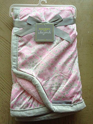 Damask Baby Blanket