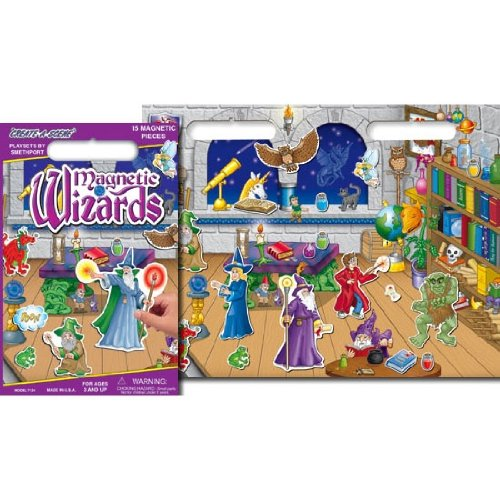 Magnetic Wizards Playboard Playset