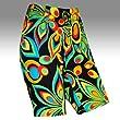 Loudmouth Golf Womens Shorts: Shagadelic Black - Size 0