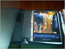 Social psychology 6th edition franzoi