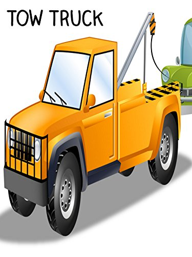 Tow Truck Video for Kids - Build a Vehicle Video
