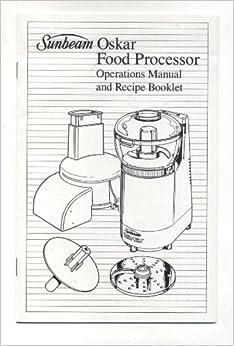 little oskar food processor manual