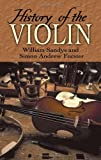 img - for History of the Violin (Dover Books on Music) book / textbook / text book