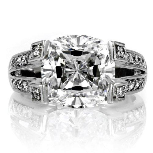 Diamond Engagement Rings Discount Elizabeth s Fake Engagement Ring CZ