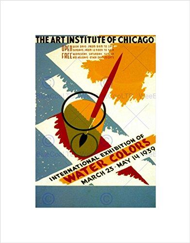 art-water-colors-international-chicago-institute-vintage-framed-print-b12x2813