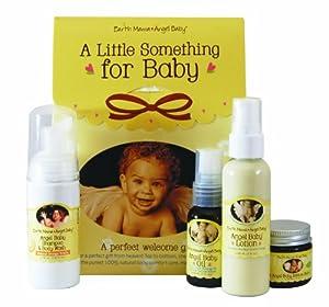 Earth Mama Angel Baby A Little Something For Baby - Juego de accesorios para cuidado de bebé Talla:kit
