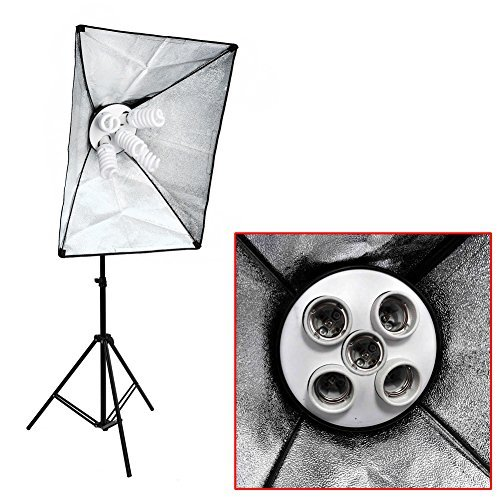 neewer 20 x28 50x70cm photo studio lambency lamp shade 5 lamp socket softbox only softbox. Black Bedroom Furniture Sets. Home Design Ideas