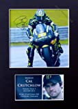 Cal Crutchlow Signed Mounted Photo Display 2013#1 featuring a printed autograph , MotoGP , Marc Marquez Honda Jorge Lorenzo Valentino Rossi Yamaha Nicky Hayden Andrea Dovizioso Cal Crutchlow Bradley Smith Stefan Bradl Alvaro Bautista Bryan Staring Ben Sp