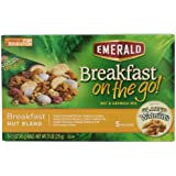 Emerald Breakfast on the Go! Breakfast Nut, Blend and Granola Mix, 7.5 Ounce (Pack of 8)