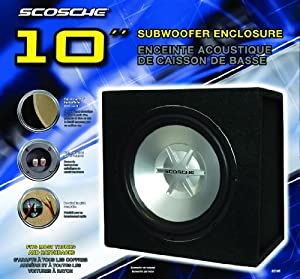 Scosche SE10R 10-Inch Subwoofer Enclosure