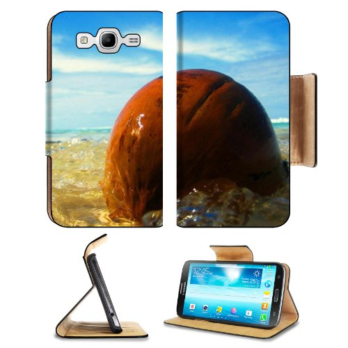 Ocean Waves Washing Over Stone Samsung Galaxy Mega 5.8 I9150 Flip Case Stand Magnetic Cover Open Ports Customized Made To Order Support Ready Premium Deluxe Pu Leather 6 1/2 Inch (165Mm) X 3 2/5 Inch (87Mm) X 9/16 Inch (14Mm) Msd Mega Cover Professional M