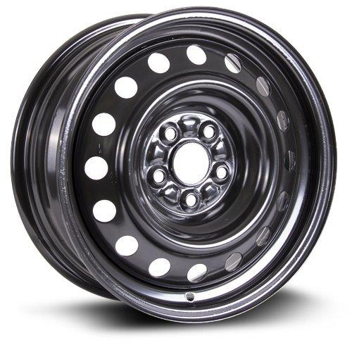 Steel Rim 15X6, 5X100, 54.1, +39, black finish (MULTI APPLICATION FITMENT) X45921 (Corolla 2014 Rims compare prices)