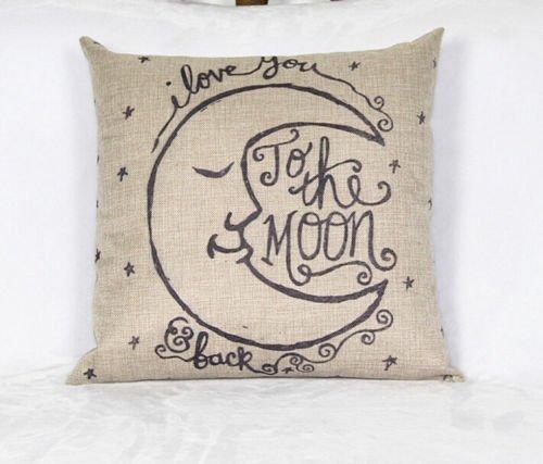 [The Best 18'' Home Decor Cotton Linen Throw Pillow Case Romantic Sofa Waist Cushion Cover] (White Trash Costume Ideas Pictures)