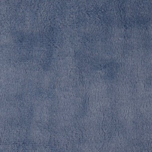 Minky Cuddle 3 Denim Fabric front-1023523
