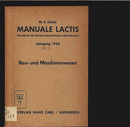 manuale-lactis-lfg-8-kl-7-bau-und-maschinenwesen
