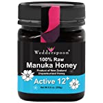 Wedderspoon Organics: 100% Raw Manuka Honey (Active 12+), 8.8 oz
