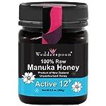 Wedderspoon Organics: 100% Raw Manuka Honey (Active 12+), 8.8 oz