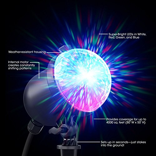 Laser light show projector kaleidoscope disco lights snowflake laser light show projector kaleidoscope disco lights snowflake mozeypictures Image collections