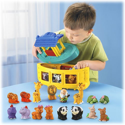 Click To Fisher Price Little People Noahs Ark with 20 Figures Details
