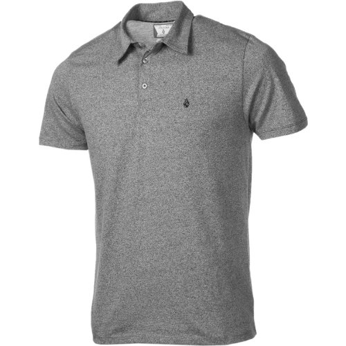 Volcom Men's Bangout Polo SS Shirt - Metal Marled (XL)
