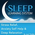 Stress Relief, Anxiety Self Help, and Deep Relaxation Guided Meditation and Affirmations: Sleep Learning System  by Joel Thielke Narrated by Joel Thielke