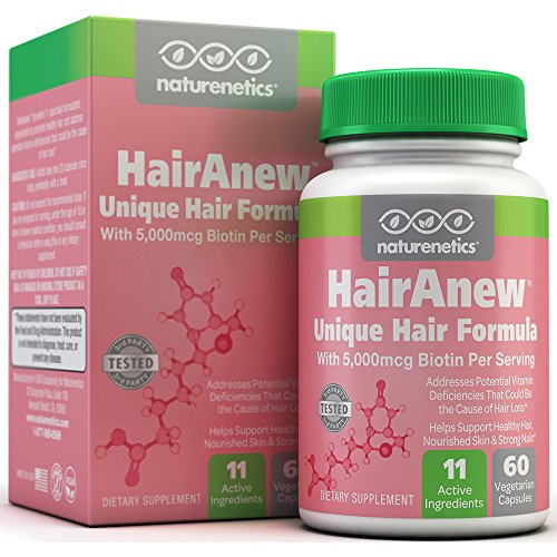 HairAnew-Unique-Hair-Growth-Vitamins-with-Biotin-Tested-For-Hair-Skin-Nails-Women-Men-Addresses-Vitamin-Deficiencies-That-Could-Be-The-Cause-of-Hair-Loss-Lack-of-Regrowth-60-VCaps